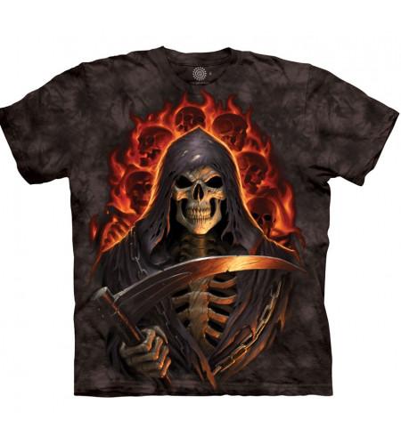 Magasin en ligne - La faucheuse - Tee shirt dark fantasy gothique boutique the mountain france