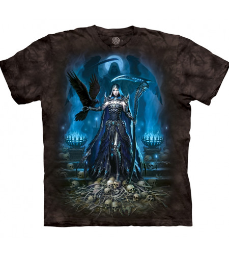 Boutique La faucheuse tee shirt reaper queen manches courtes dark fantasy the mountain magasin france