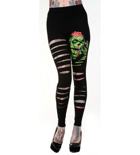 boutique vêtement femme leggings zombie mode alternative