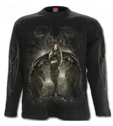 boutique vente vetement tee shirt motif ange gothique tee shirt