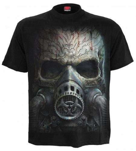 Bio skull - T-shirt homme dark fantasy - Spiral