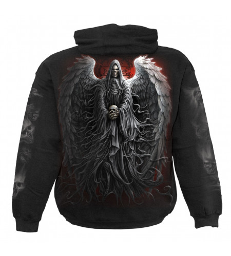 Death robe - Sweat shirt homme - Reaper squelette - Spiral