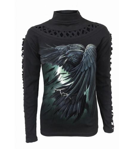 Shadow raven - T-shirt femme - Corveaux - Spiral