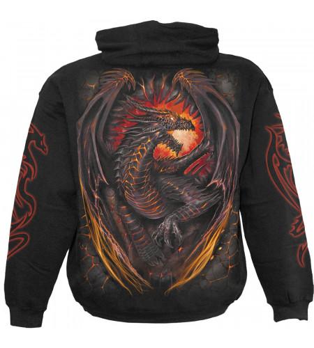Dragon furnace - Sweat shirt dragon - Homme