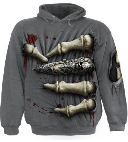sweat shirt gothique homme squelette boutique death grip