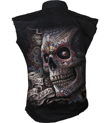 El muerto - Chemise sans manches - Gothique