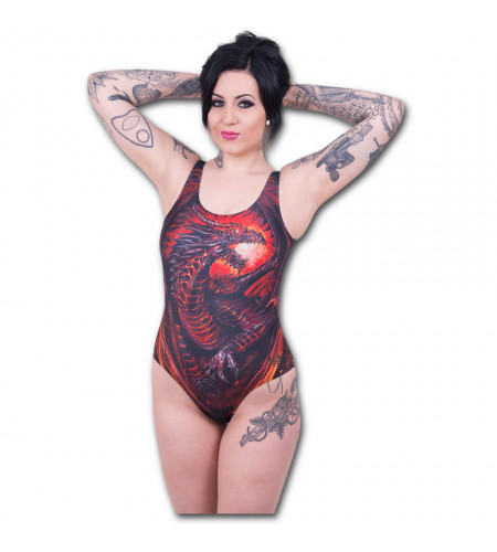 Dragon furnace - Maillot de bain femme