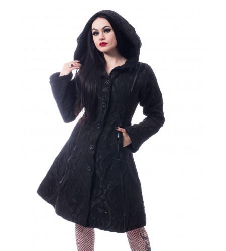 magasin vente vetement manteau femme gothic rock poizen industries Mansion model