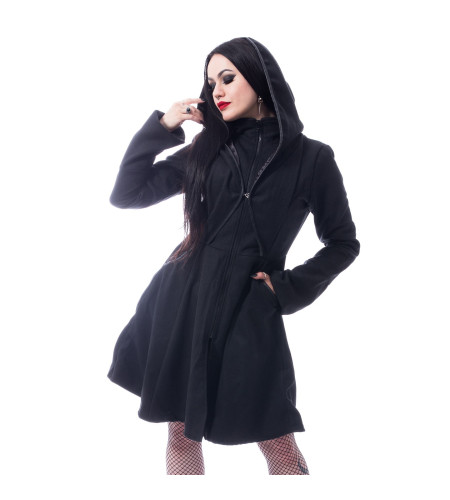 Manteau Rock Gothic femme - Melina coat - Poizen industries