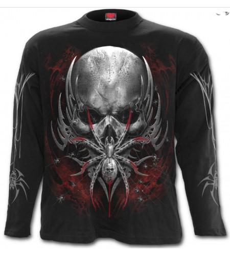 Spider skull - Tee-shirt dark fantasy - Homme