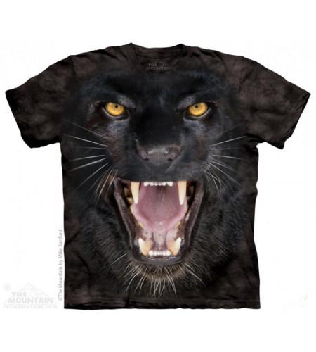 boutique tee shirts the mountain motif panthère noire