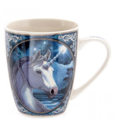 boutique dragon vente tasse céramique mug motif  licornes fantasy conte
