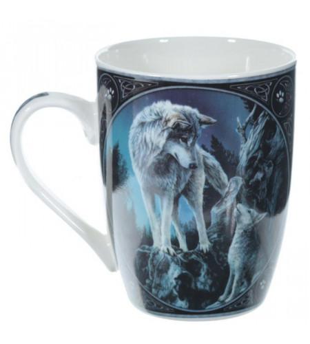 Chef de meute loup - Mug - Tasse - Lisa Parker