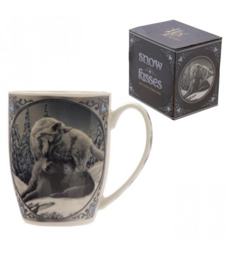 Snow kisses - Loups - Mug - Tasse - Lisa Parker