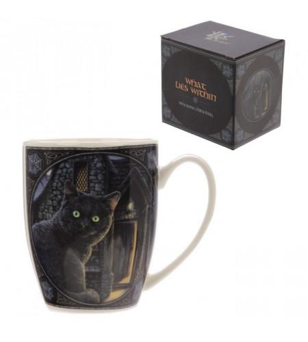 Chat noir yeux vert - Mug - Tasse - Lisa Parker - Déco