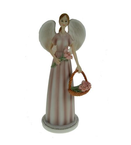 ange fleur statuette angélique