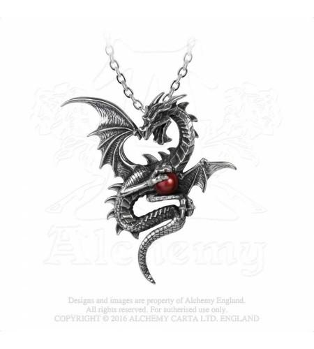 boutique bijou pendentif dragon alchemy gothic p756