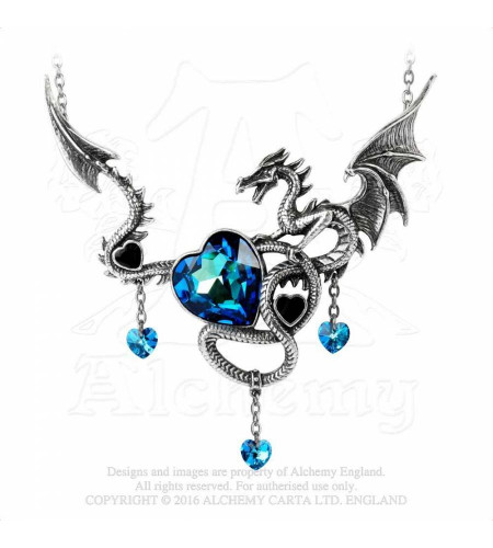 Boutique vente bijoux Alchemy Gothic motif dragon