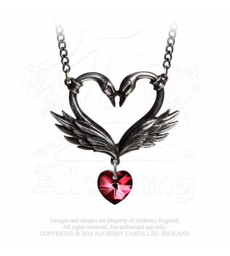 The Black Swan Romance - Pendentif - Alchemy Gothic