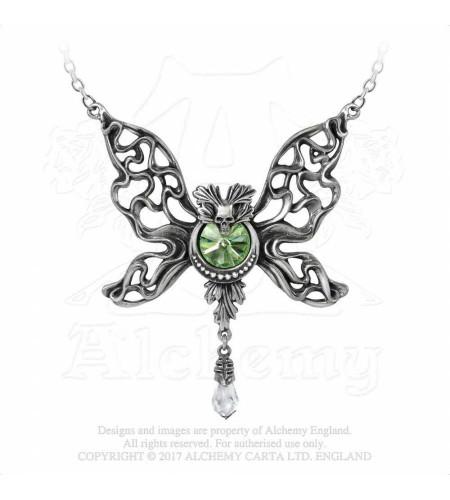 Le phantom vert  - Collier - Bijou Alchemy Gothic
