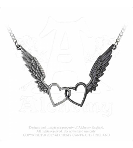 Wings Of Love - Pendentif - Bijou romantique - Alchemy Gothic