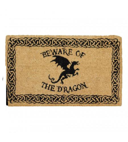 boutique objet motif dragon paillasson déco heroic fantasy