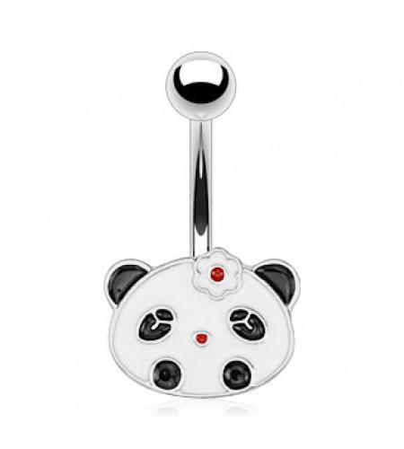 boutiquen ligne piercings nombril motif panda manga