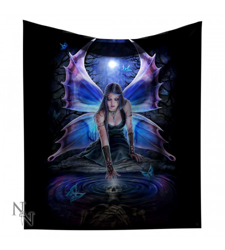 Boutique Anne Stokes fée immortal flight couverture plaid