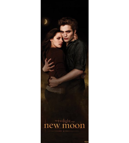 Twilight Edward et Bella New moon - Poster de porte
