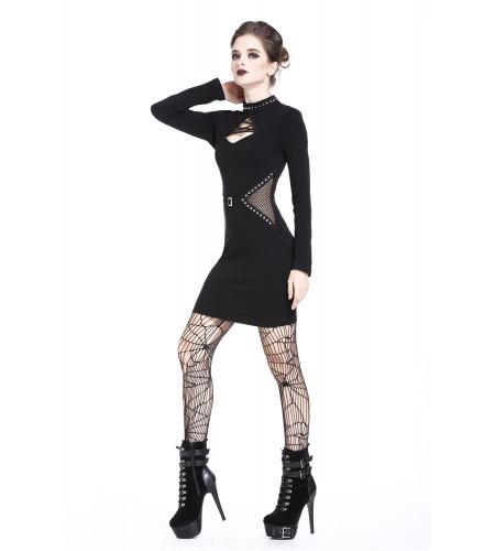 achat en ligne robe punk rock gothic boutique dark inove france