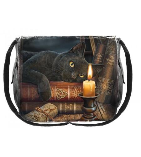 boutique lisa parker france vente sacs besace motif chats noirs witching hour magie fantasy
