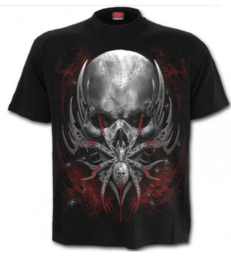 Spider skull - T-shirt homme dark fantasy