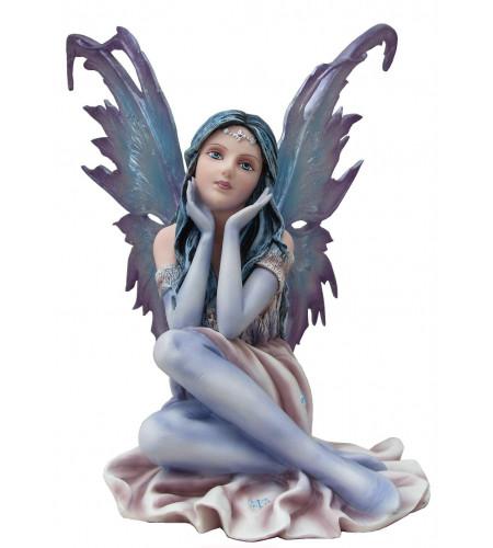 Boutique décoration féerique statuette fée elfe grande taille