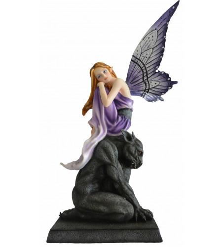 Boutique fée gothique déco figurine gargoyle