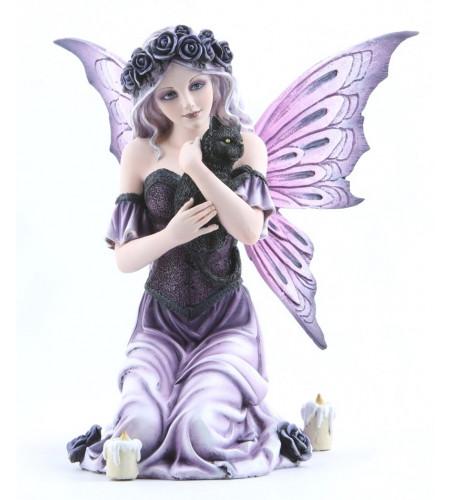 Boutique féerique vente statuette décoration elfe et chat af061d