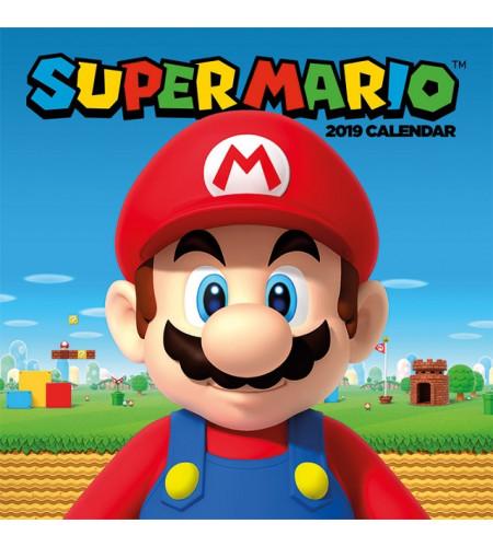 Boutique vente produit geek Nintendo super mario jeu vidéo calendrier 2019