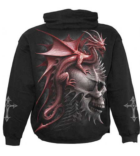 sweat shirt de dragon spiral