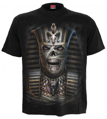 boutique spiral t-shirt momie squelette dark fantasy pharaos curse