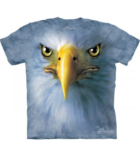 t-shirt the muntain eagle face
