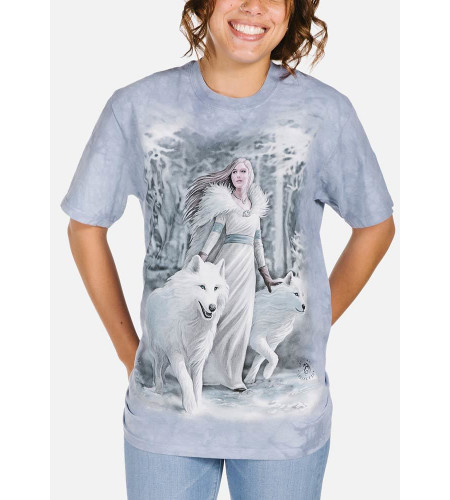 Winter guardian - T-shirt - The Mountain - Anne Stokes