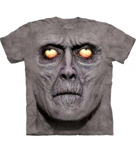 Tee-shirt homme motif imprimé tête de zombie - The Mountain