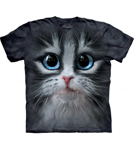 tee shirt motif chaton - cuie pie kitten - the mountain enfant