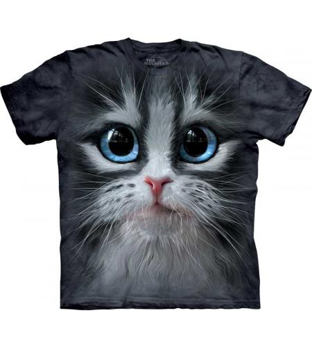 t-shirt adulte the mountain motif tête de chaton