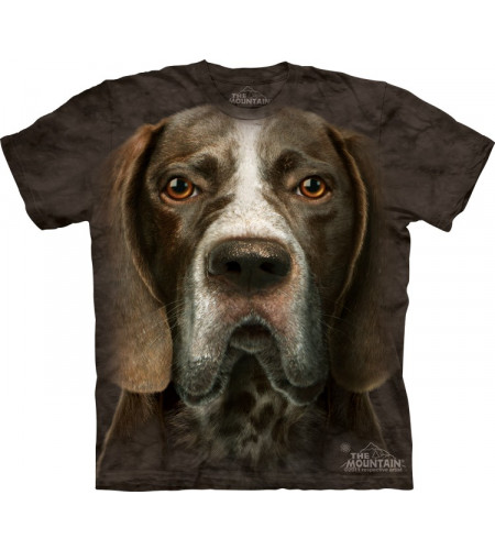 t-shirt chien de race pointer