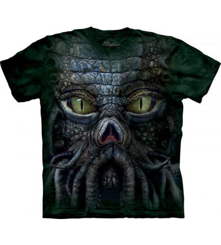 tee shirt homme cthuluh - The Mountain - Lovecraft