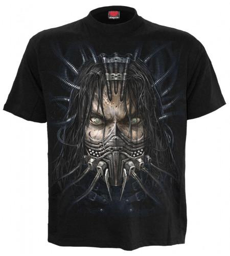 t-shirt cyborg gothic enforcer - Spiral
