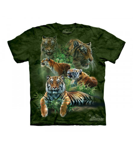 t-shirt tigres enfant the mountain