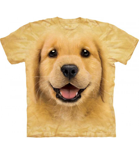 t-shirt enfant the mountain golden retriever labrador