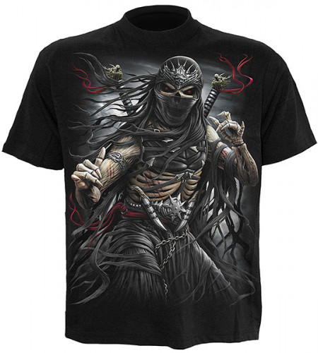 tee shirt enfant squelette ninja