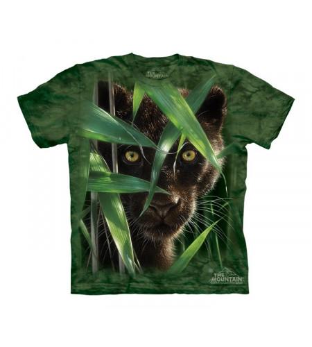 t-shirt panthère noire vetement enfant the mountain